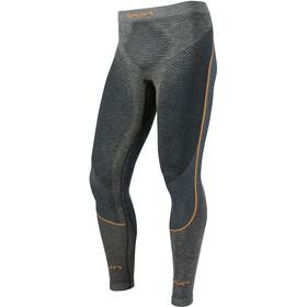 UYN Ambityon Melange UW Long Pants Men Black Melange/Atlantic/Orange Shiny